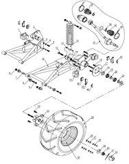 250SV Rear Suspension Parts