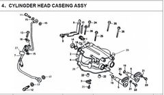250cc Valve Cover Assembly