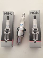 650cc Spark Plugs 2 plugs NGK best for performance and longevity.