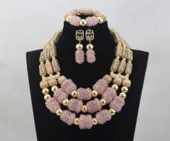 DD26 African Nigerian Wedding Necklace Set