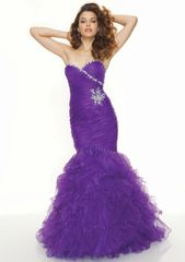 EA00011_ Green, Purple, Pink High Quality Evening Dress, Prom Dress