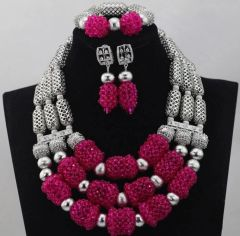 DD27 African Nigerian Wedding Necklace Set