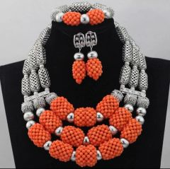 DD301 African Nigerian Wedding Necklace Set