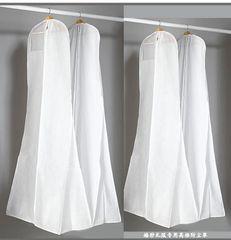 EA0001B_ 180cm Wedding Dress Cover, Bridal Garment Long Clothes Waterproof Dustproof Storage Bag, Garment Bag