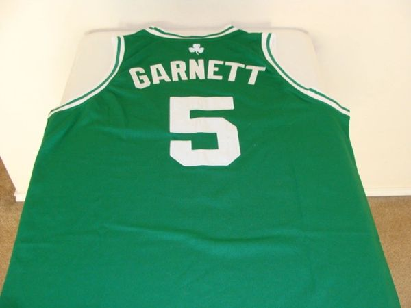 d5c01fa3237 #5 KEVIN GARNETT Boston Celtics NBA PF/Center Green Throwback Jersey | Lone  Star Throwbacks