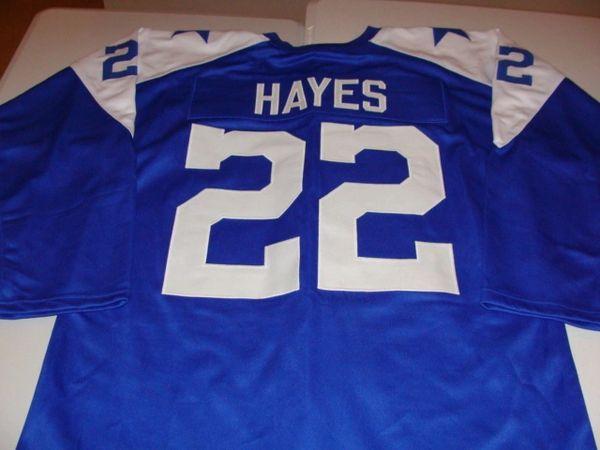 88490c2f6 #22 BOB HAYES Dallas Cowboys NFL WR Blue L/S Throwback Jersey | Lone Star  Throwbacks