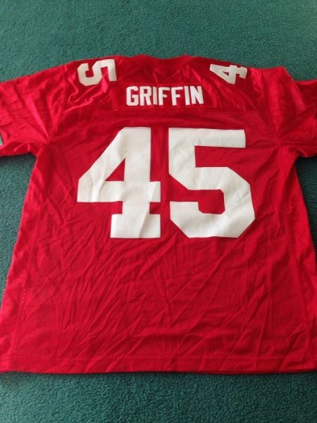 45 ARCHIE GRIFFIN Ohio State Buckeyes NCAA RB Red Rose Bowl Throwback  Jersey  4056ae029