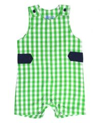 Green Gingham Jon Jon