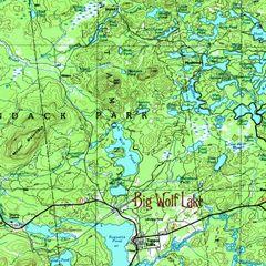 Big Wolf Lake, Tupper Lake, NY