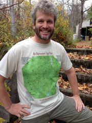46 High Peaks Adirondacks Topographic Map T-Shirts