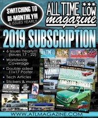 2019 Subscription!!!! (Starts with Issue 17)