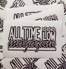"Printed ATL logo sticker 5"" X 3"""
