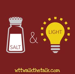 Salt & Light Decal