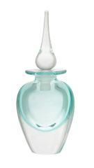 Vandermark Merritt Green Hand Blown Perfume Bottle