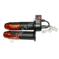 Universal 12v 24v 36v 48v 60v Electric Scooter Bike Throttle Grip with Switch