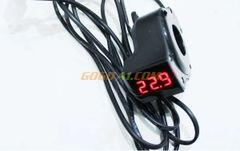 Battery Level Digital Indicator, Volt metre