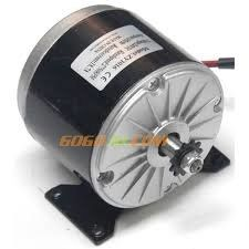 24V 250W Gearless Chain Driven PMDC motor