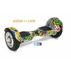 10 inch GoGo Hoverboard,Skull
