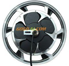 350/500W BLDC Gearless 12-inch Alloy Rim Hub motor