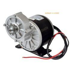 24V 350W Geared Chain PMDC motor