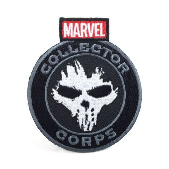 MARVEL COLLECTORS CORPS CIVIL WAR BOX EXCLUSIVE - CROSSBONES PATCH