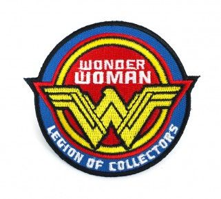DC LEGION OF COLLECTORS BATMAN VS SUPERMAN BOX EXCLUSIVE WONDER WOMAN PATCH