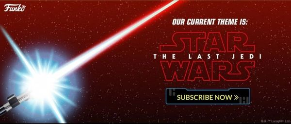 STAR WARS SMUGGLERS BOUNTY EXCLUSIVE- THE LAST JEDI BOX (Back ORDER)