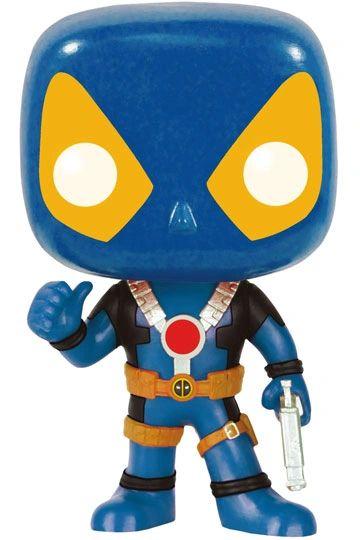 Marvel Comics POP! Vinyl Bobble-Head Deadpool Thumbs Up X-Men Costume