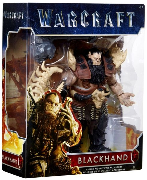 "Warcraft Movie Blackhand Action Figure 6"" Wave 1 New Release"