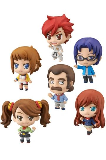 Gundam Build Fighters Try Petit Chara Trading Figure Blind Box Single