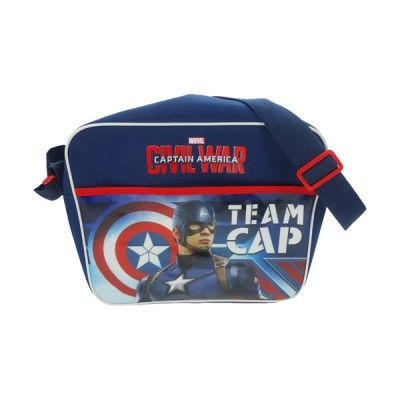 Captain America Civil War Courier Bag - Team Cap!