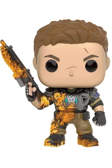 Gears of War POP! Games Vinyl Figure JD Fenix Slimed GITD