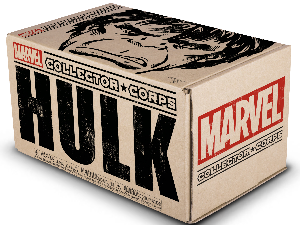 MARVEL COLLECTOR'S CORPS HULK BOX (BACK ORDER)