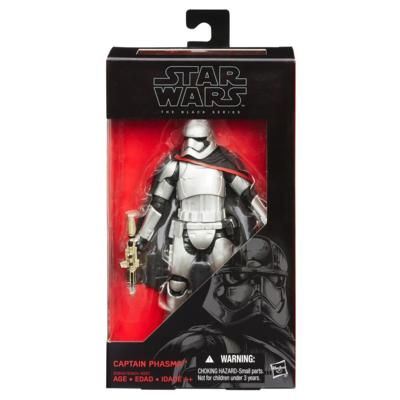 STAR WARS EPISODE VII BLACK SERIES 6 INCH CAPTAIN PHASMA