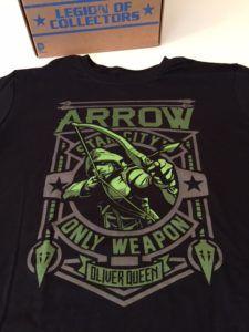 Dc Legion of Collectors - Tv Box Exclusive Arrow T-shirt
