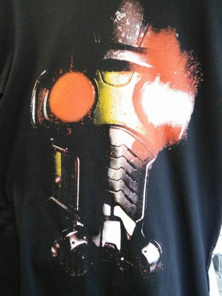 Marvel Guardians Of The Galaxy Starlord Mask T-shirt - Small