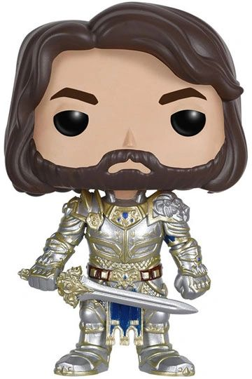 Warcraft POP! Movies Vinyl Figure King Llane 9 cm