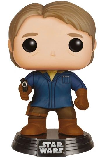Star Wars Episode VII POP! Vinyl Bobble-Head Han Solo (Snow Gear) 9 cm Loot Crate Exclusive