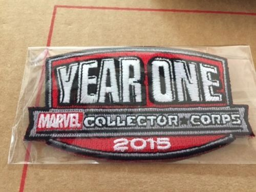 MARVEL COLLECTORS CORPS YEAR ONE BOX EXCLUSIVE - YEAR ONE PATCH