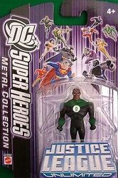 DC Super Heroes Green Lantern Justice League Unlimited 7cm Metal Collection Figure