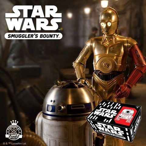STAR WARS SMUGGLERS BOUNTY EXCLUSIVE - DROIDS BOX (BACK ORDER)