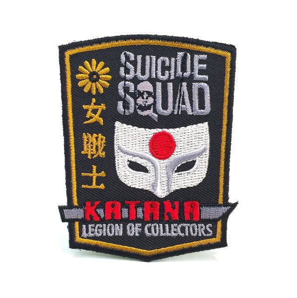 DC LEGION OF COLLECTORS SUICIDE SQUAD BOX EXCLUSIVE KATANA PATCH