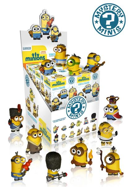Minions Movie Mystery Minis Vinyl Mini Figures Singles