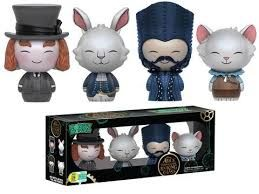Sdcc 2016 Alice Through The Looking Glass Dorbz 4 Pack - Mad Hatter, McTwisp, Time & Dormouse