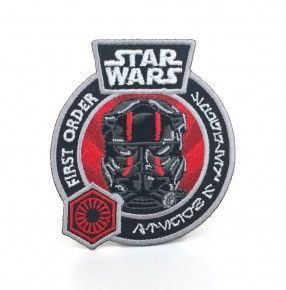 STAR WARS SMUGGLERS BOUNTY - THE FORCE AWAKENS EXCLUSIVE TIE FIGHTER PILOT PATCH