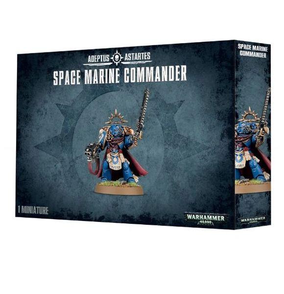 Warhammer 40k Space Marine Commander