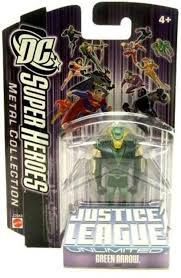 DC Super Heroes Green Arrow Justice League Unlimited 7cm Metal Collection Figure