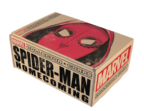 MARVEL COLLECTOR'S CORPS SPIDER-MAN HOMECOMING BOX (BACK ORDER)