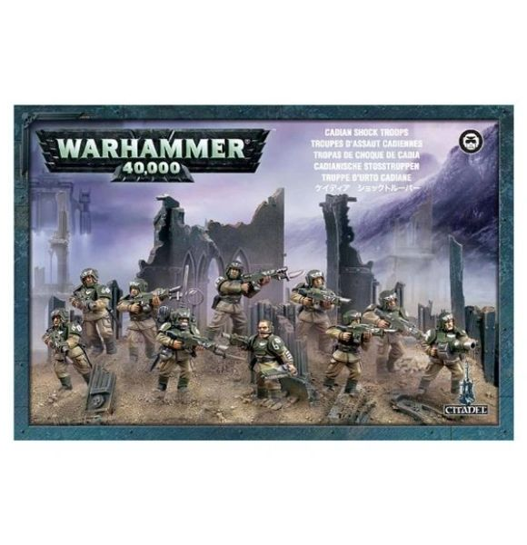 Warhammer 40k Cadian Shock Troops
