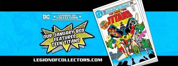DC LEGION OF COLLECTORS - TEEN TITANS BOX (BACK-ORDER)